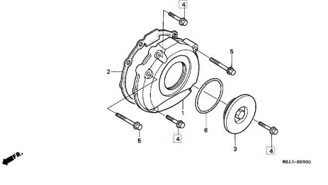 Motory > kompletní motor > Honda Šroub 6x28 pro HONDA