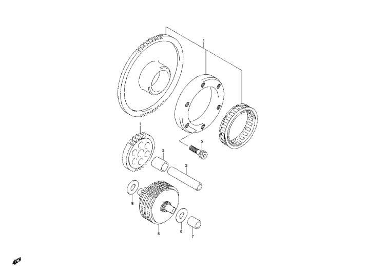Elektrika > startér > DL1000 V-Strom SV1000 AN 400 650