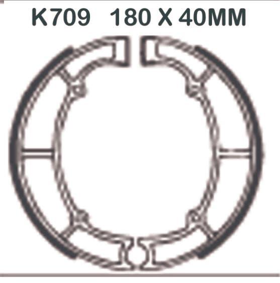 Brzdy > bubny > Brzdové obložení EBC K709 pro Kawasaki ZL